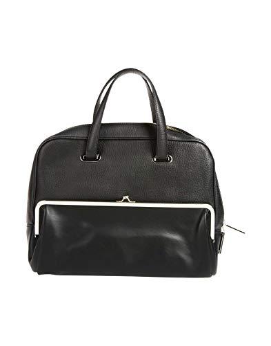 MAISON MARGIELA, Damen Tote-Tasche Schwarz Schwarz Einheitsgröße