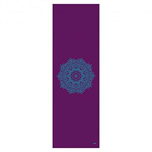 Estera de Yoga Leela Colección, Mandala de Berenjena