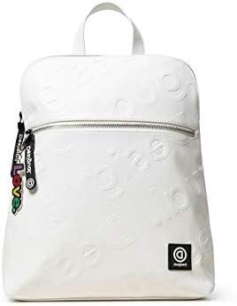 Desigual Back_new Colorama Nanaimo - Mochila para mujer (11 x 35 x 28 cm), color blanco