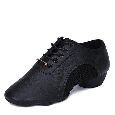 Wuyulunbi@ Donna Tulle Jazz Split Sole Sneaker Outdoor / tacco basso nero 1,Black,US9 / EU40 / UK7 / CN41 US6 / EU36 / UK4 / CN36