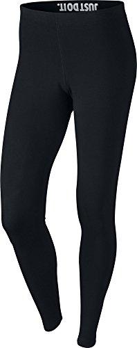 Nike Damen Leggings Leg-A-See, black/white, S, 806927 (Frauen Leggings Versandkostenfrei)