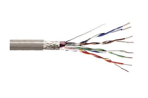 DIGITUS Verlege-Kabel Cat-5e SF-UTP - 100-m Simplex im Karton - AWG 24/1 - LAN Netzwerk-Kabel - 100-MHz - Eca - PVC