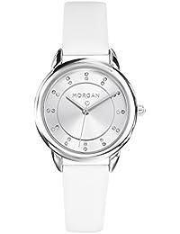 12583d81dcee Morgan Reloj Analogico para Mujer de con Correa en Cuero M1256W