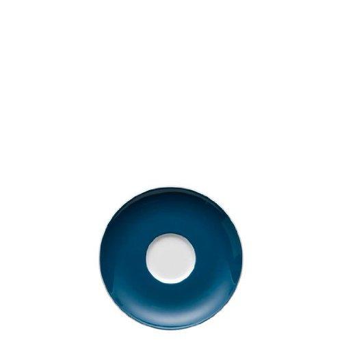 Soucoupe pour Tasse à Café 20 cl Thomas Sunny Day, Porcelaine, Petrol Blue / Bleu, Compatible Lave-Vaisselle, 14.5 cm, 14741