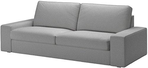 Custom Slipcover Replacement Kivik Sofa-Bett-Abdeckung Ersatz ist nach Maß für IKEA Kivik Sleeper Slipcover Nur. Cotton Grau Cotton Sleeper