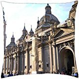Basilica Cathedral-Spain - Throw Pillow Cover Case (18