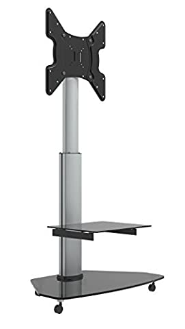 Dynamic-Wave LCD LED TV STÄNDER GLAS STANDFUSS MIT TV ADAPTER 32