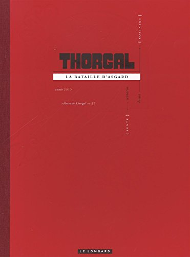 Thorgal luxes - tome 32 - La bataille d'Asgard luxe