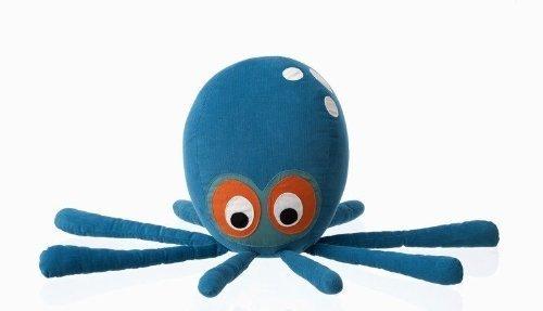 Ferm Living Octopus Cushion Kranken Kissen für Kinder Maße: 55 x 25cm 100 % Baumwolle