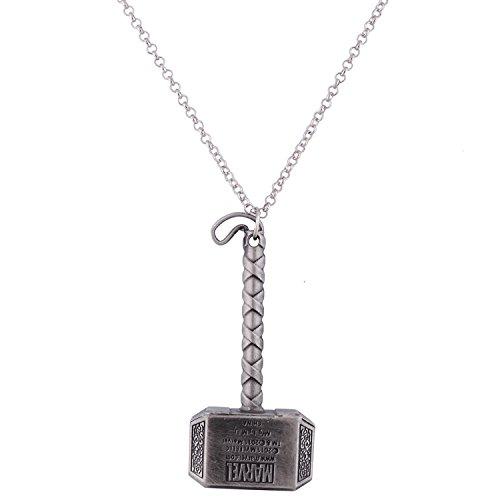 Halskette und Metall-Anhänger. THE AVENGERS - Modell