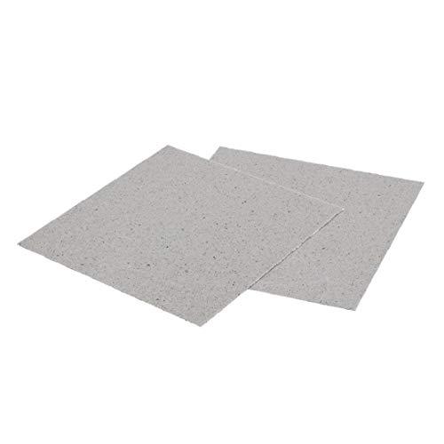 OMMO LEBEINDR 2 Stück Ersatz-mica Platten Durable Ofen Reparieren Teil Praktische Blätter Mica