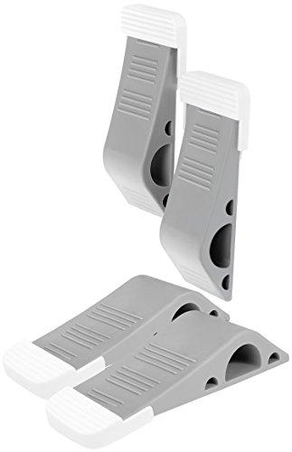 . Door Wedge Stopper Ideal for Homes Non-Slip Door Jammer Grey, Pack of 5 Heavy Duty Rubber Door Wedge XFORT/® 5 Pack Door Wedge Offices and Work Shops