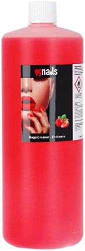 99Nails® ongles Cleaner-Fraise, 1er Pack (1x 1000ml)