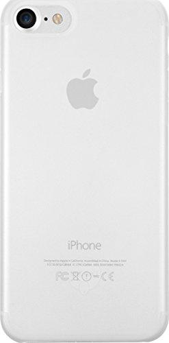 Ozaki O!Coat 0.3 Jelly Slim Schutzhülle für Apple iPhone 7 / 8 in transparent [0.3mm dünn | 4g leicht | Extrem passgenau | Transparent] - OC735TR