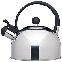 Kitchencraft Le Xpress – Hervidor de agua con silbido, apto para inducción, hornillo