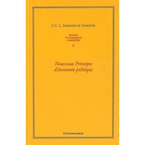 Oeuvres économiques complètes : Tome 5, Nouveaux principes d'économie politique