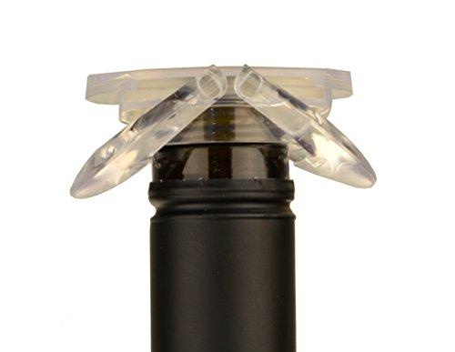 UFO Sekt & Champagnerverschluss klar Flaschenverschluss
