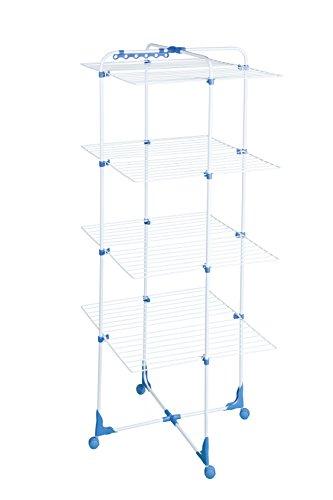 herby-3063-sechoir-tour-familial-avec-4-niveaux-acier-thermoplastifie-thermolaque-blanc-bleu-69-x-7-