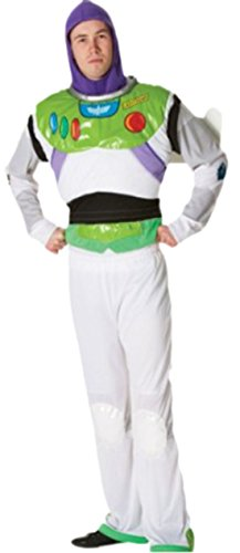 Fancy Ole - Erwachsene Buzz Lightyear Kostüm, XL, (Kostüm Lightyear Buzz Halloween)