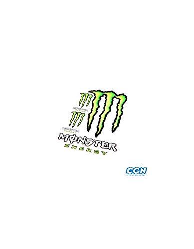 Motodak Selbstklebend Marke Monster Energy (50x35cm) Klaue Seul