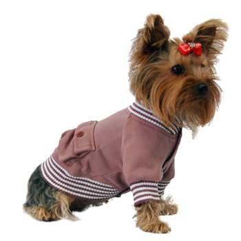 Artikelbild: Anima rot Poly Baumwoll-Mischgewebe Sailor Jacke, Druckknopfverschluss, groß