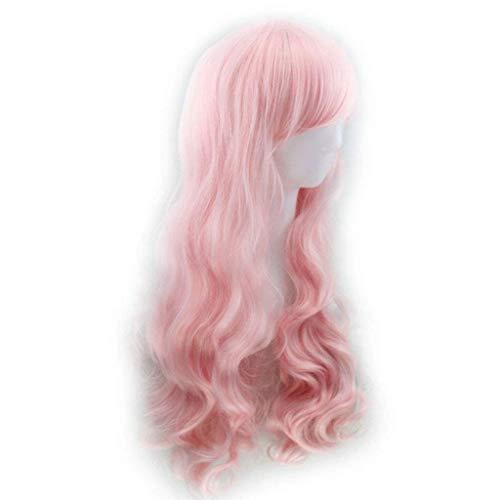 nische Harajuku-Stil super süße Lolita Perücke Rosa Gradienten Cos Perücke Perücken Europa und Amerika Aliex ()