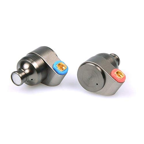 Linsoul TIN HiFi T2 HiFi Dual Dynamic Treiber In-Ear Kopfhörer, Metall Design, abnehmbare MMCX Kabel, Schaustoffaufsätze