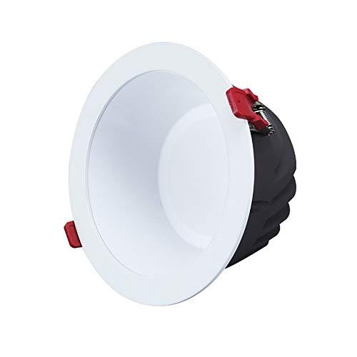 Wlnnes COB LED empotrable antideslumbrante Downlight baño Inodoro empotrable antiniebla Luz de...