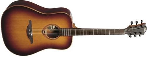Guitarra acustica lag dreadnought brown shadow