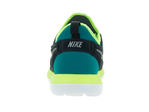 Nike Roshe Two (Gs), Chaussures de Running Entrainement Garçon Noir (Black (noir / étain-volt MTLC-rio sarcelle d'hiver))