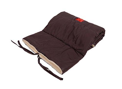 kaiser-couverture-pour-poussette-motif-etoile-marron