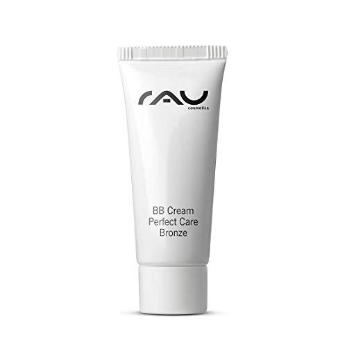 RAU BB Cream Perfect Care Bronze 8 ml - Gesichtspflege & Make-up in Einem - Perfekte Abdeckung + Pflege + UV-Schutz - Getönte Tagescreme mit Zink, Vitamin E -