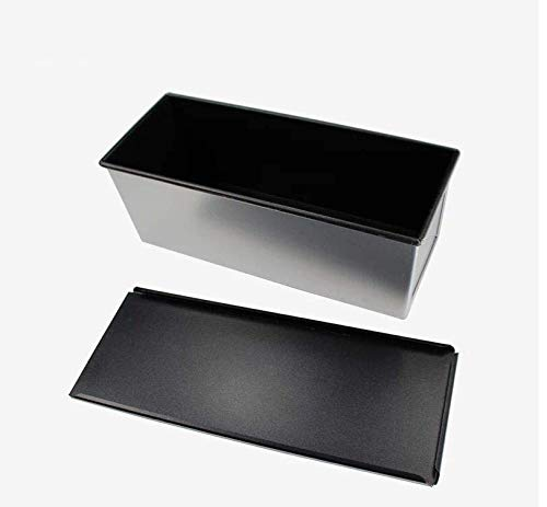 Pullman Loaf Pan (Astra Gourmet Bakeware aluminisierten Stahl Pullman Backen mit, 33x 14x 12,7cm, Aluminiumguss & Quick-Release-Beschichtung (Sliver))