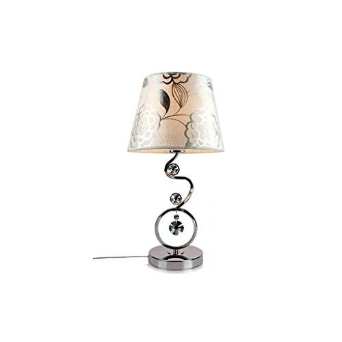 Tischdecke Lampe Schlafzimmer Kopfteil Mutter Warmes Licht Korean Warm Persönlichkeit Kreative Kristall Lampe Fernbedienung Dimmbare LED Augenschutz Schreibtischlampe ()
