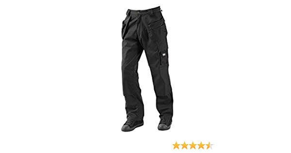 Lee Cooper Workwear LCPNT216 Mens Multi /& Holster Pocket Kneepad Work Safety Cargo Pants Trousers Size 30 Long Grey//Black