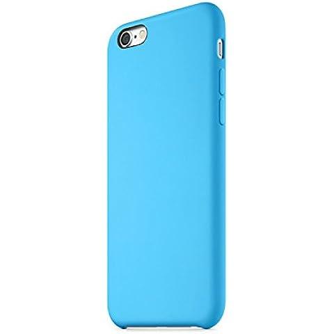 PHONECT iPhone 6 Plus Funda de Silicona Líquida Funda Popular Gel Suave Antideslizante Antigolpes para Apple iPhone 6 Plus / 6S Plus, Color