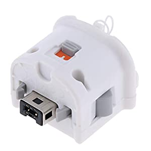 Weiss Bewegung Plus Externer Sensor-Adapter Fuer Nintendo Wii Remote Controller