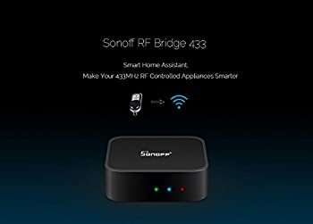 3 In 1 Kits:sonoff Rf Bridge Wifi 433mhz + Pir2 Pir Infrared Human Sensor + Dw1 Door & Window Alarm Sensor For Smart Home Remote Control By Ios Android Works With (Amazon Alexa Google Home) 5