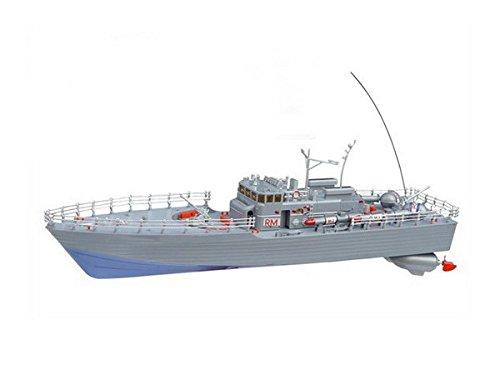 Unbekannt RC Torpedoboot Sea Patrol ferngesteuertes Kriegsschiff Schiff Boot Royal Marine mit Kabinenlicht - viele Details - alles inklusive!! beeindruckende 50 cm Länge