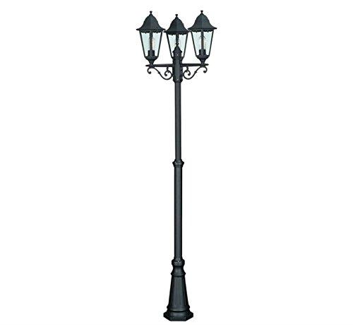lampione da giardino tre lanterne