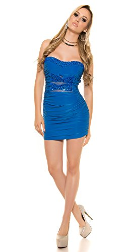 In-Stylefashion - Robe - Femme Bleu Bleu Taille unique Bleu - Bleu