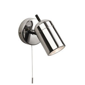 firstlight-9050ch-atlantic-single-chrome-bathroom-wall-spotlight-ip44-rated