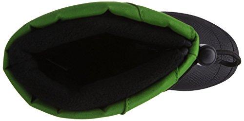 Canadians Indigo 467 185 Hiver Neige Bottes Doublure Polaire Unisexe en 6 couleurs Vert