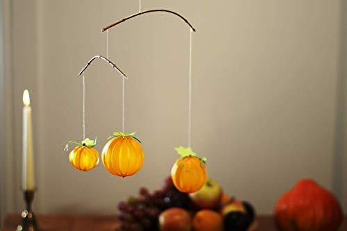 sse, Herbstdekoration, Halloween Dekoration, Kinderzimmer Herbst, Erntedank, Thanksgiving,Kinderzimmer Herbst, Herbst Baby Dekor, Esszimmer Herbst, Papierkürbis ()