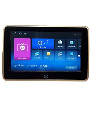 GAX EL reposacabezas de la pantalla táctil capacitiva HD de 10,1 pulgadas soporta la función de pantalla USB/SD/FM/WiFi/inalámbrica - Autos Pantallas