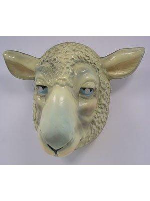 Hartplastik Tier-Maske für Erwachsene Schaf ()