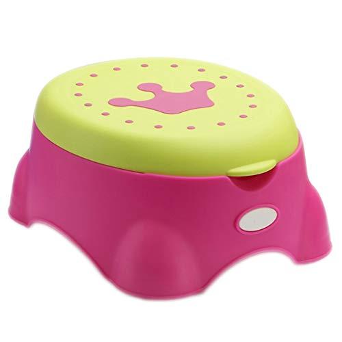 Bébé toilette Chaise De Toilette Child Potty Toilet Potty Baby Anneau De Siège De Toilette Plus La Taille 0-3-6 Ans Enfant Tabouret Pot (34.6 * 39.7 * 18Cm)