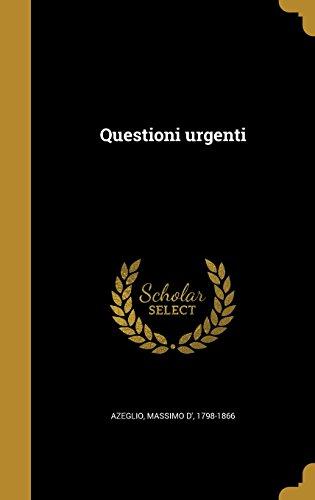 ITA-QUESTIONI URGENTI