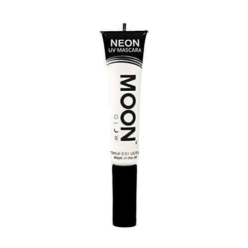 Moon Glow - Máscara pestañas UV neón 15ml Blanca - produce