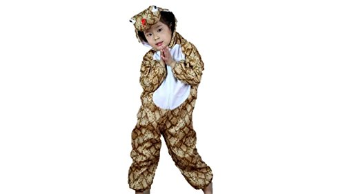 Kinder Tierkostüme Jungen Mädchen Unisex Kostüm Outfit Cosplay Kinder Strampelanzug (Schlange, M (Für Kinder 90 -105 cm groß))